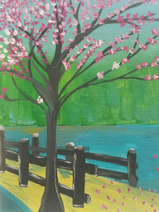 Lake Bridge - Seema's Creation