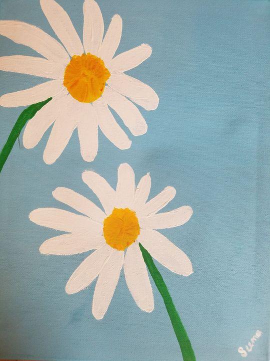 Daisies - Seema's Creation