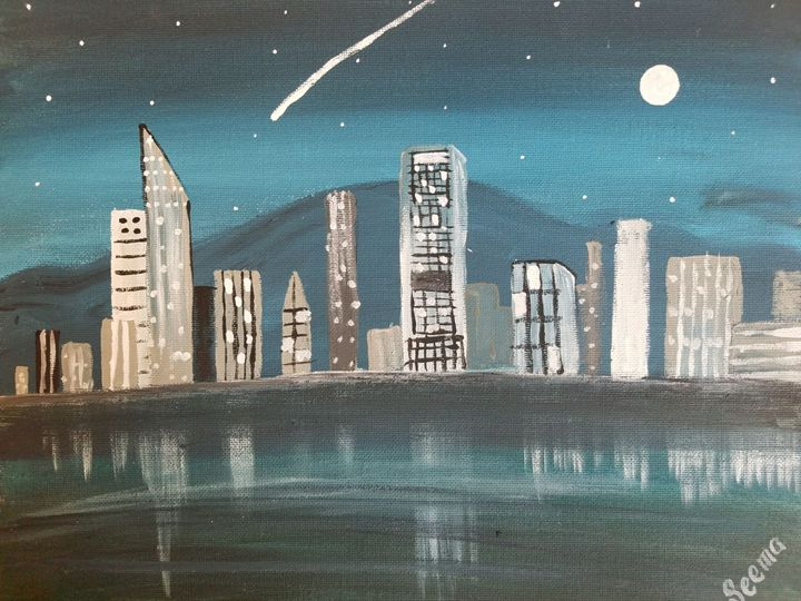 Cityscape - Seema's Creation