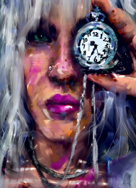 Time is Mean - Amy Westphal Fine Art