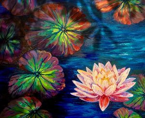 Lily pond - Amy Westphal Fine Art