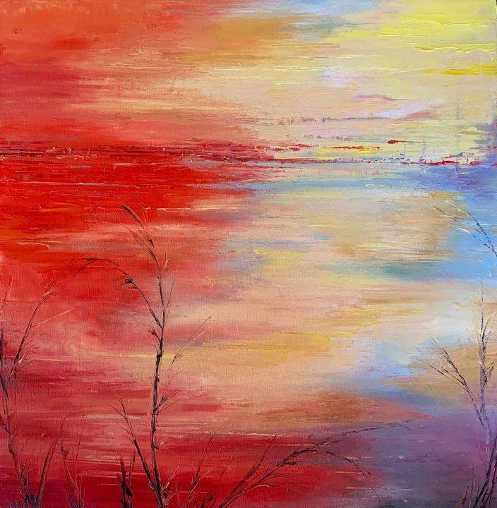 Memory In Red - Amy Westphal Fine Art