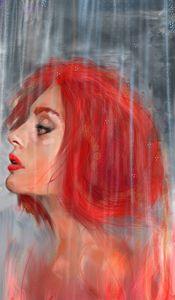 Portrait of Rage and Rain