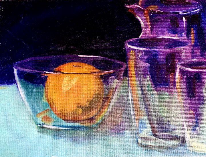 Orange and Glass - Amy Westphal Fine Art