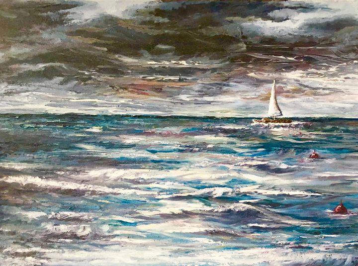 Dark Seas - Amy Westphal Fine Art