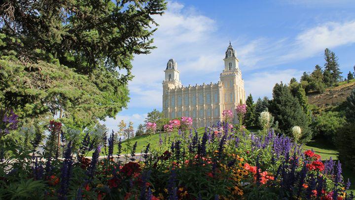 Manti Utah Temple - Josh Spendlove