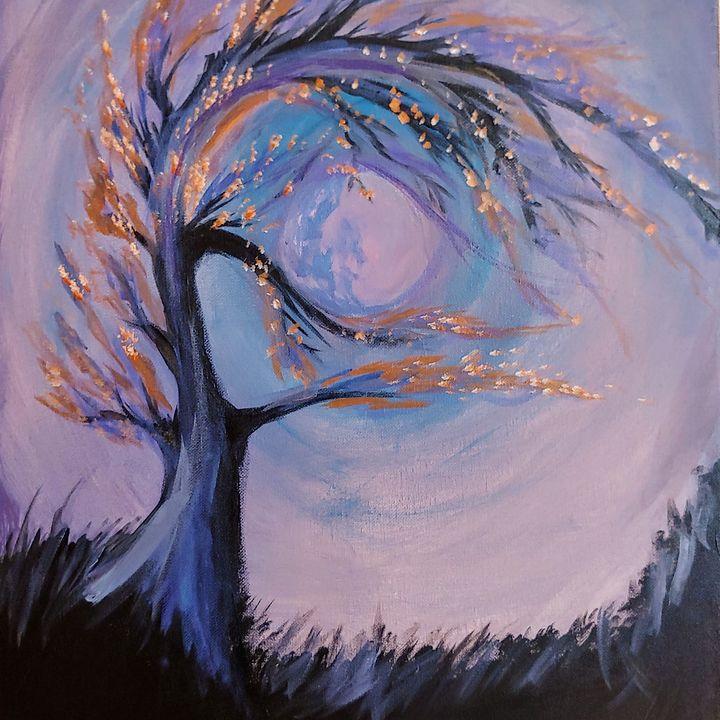 Fire tree - JmurArt