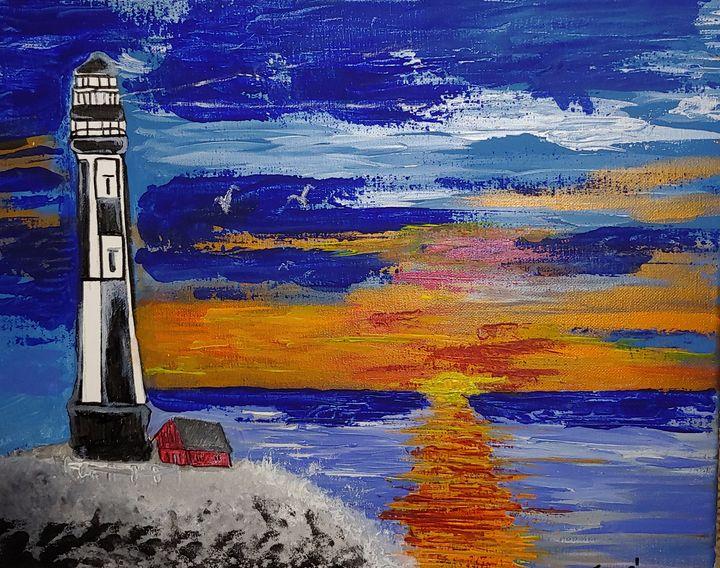 Sunrise lighthouse - JmurArt