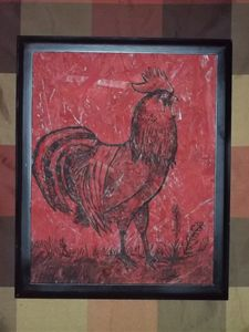 Red-Rooster / Sold - Mr. Lane's Art