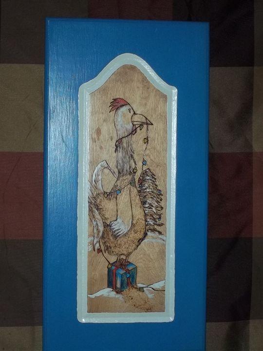 X-mass Chicken - Mr. Lane's Art