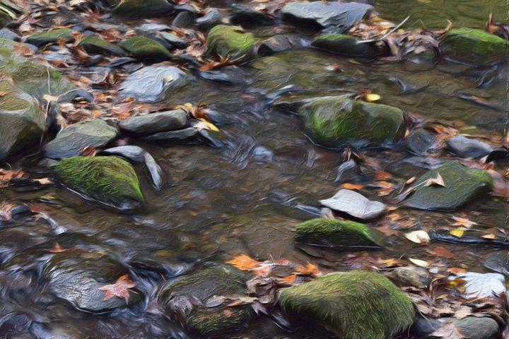 River Serenity - Artwork by Bobby Allan