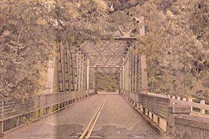 Oregon Bridge - Artwork by Bobby Allan
