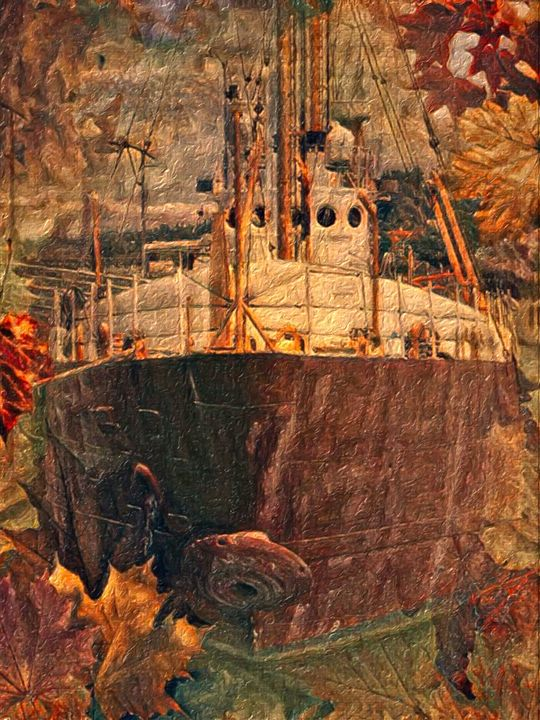 Autumn Voyage - Artwork by Bobby Allan