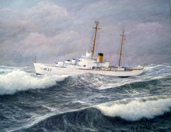 U.S.Coast Guard Cutter Taney - RaVell Fine Art Studio