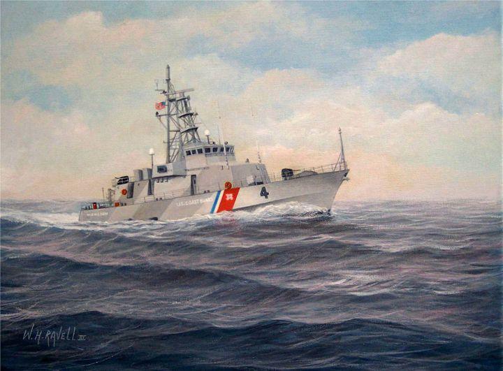U. S. Coast Guard Cutter Monsoon - RaVell Fine Art Studio