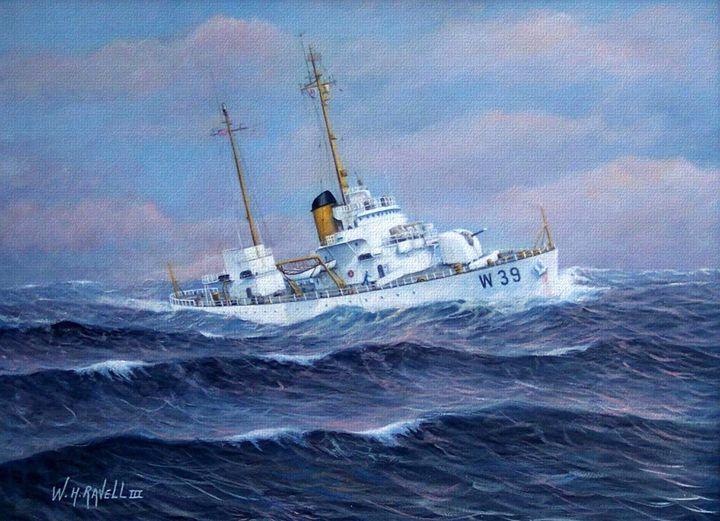 U. S. Coast Guard Cutter Owasco - RaVell Fine Art Studio