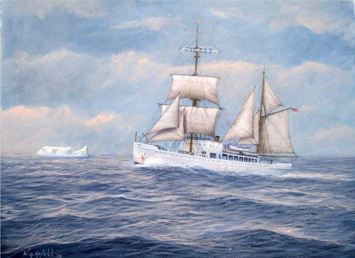 U. S. Coast Guard Cutter Northland - RaVell Fine Art Studio