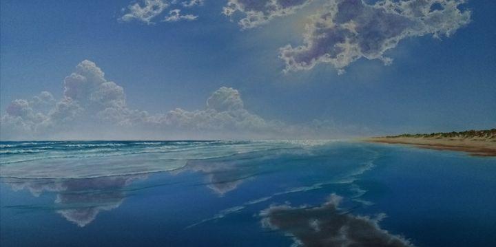 Cloud reflections - Seascapes
