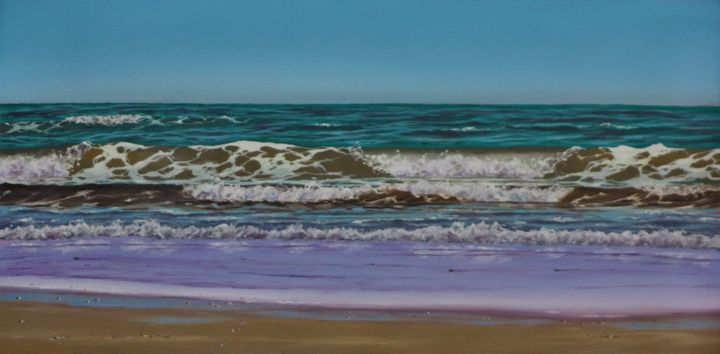 Foam patterns - Seascapes