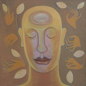 Self Potrait by Phuong Vu Manh, 2018