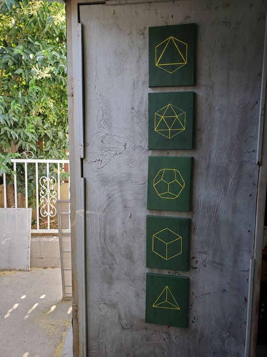 Elements/ Sacred Geometry. - Lux