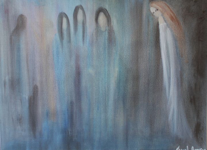 The Girl in White - Raquel Aguaron