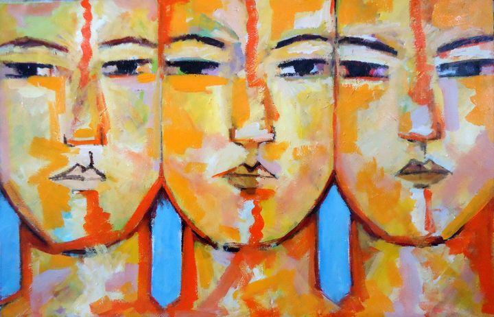 Heads (1) - Sandro Maciel