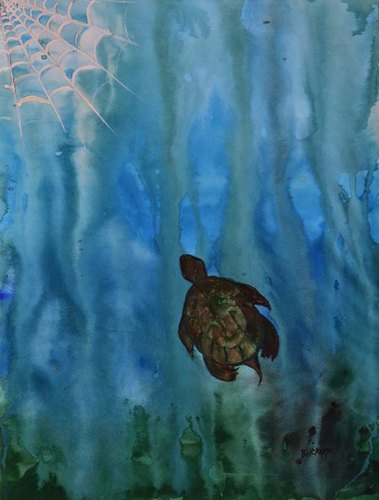 Turtle Dreams - Burrart Galleries