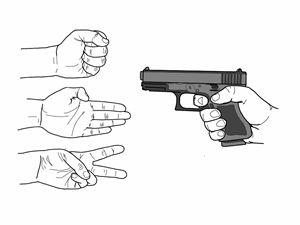 rock, paper, scissors, shoot - C Martin