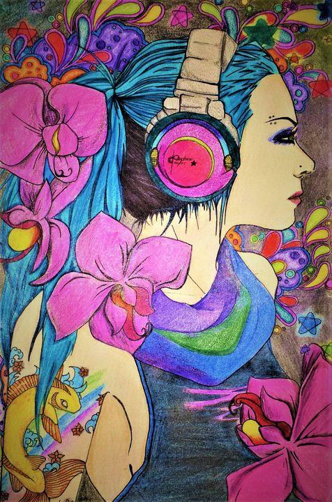 Orchids - Vyktoria nightshade