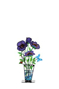 Anemone Flower Vase Purple Tzuki
