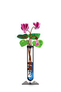 Cyclamen Flower Tube Pink Tzuki