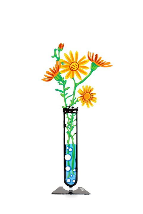 Senecio Flower Tube Yellow Tzuki - Tzuki Design