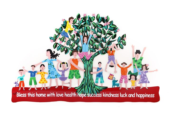 Family Home Blessing Tree Tzuki - Tzuki Design