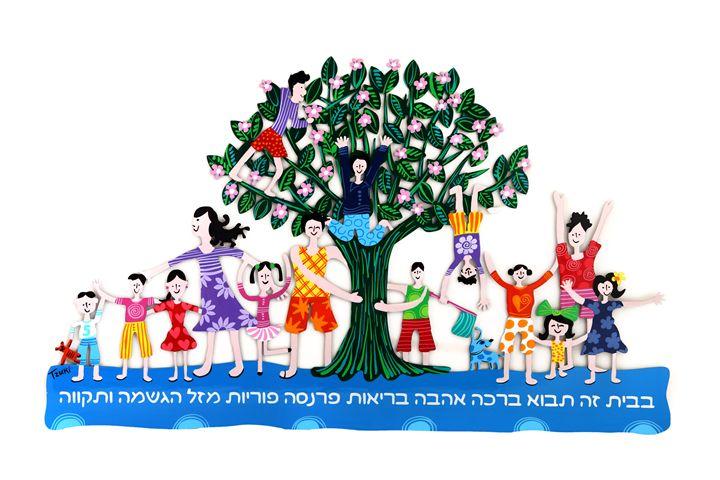 Family Blessing Tree Tzuki Design - Tzuki Design