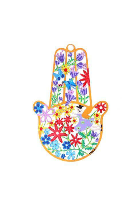 Spring Hamsa Hand Blessing Tzuki - Tzuki Design
