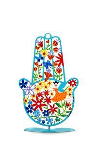 Spring Hamsa Hand Sculpture Tzuki - Tzuki Design