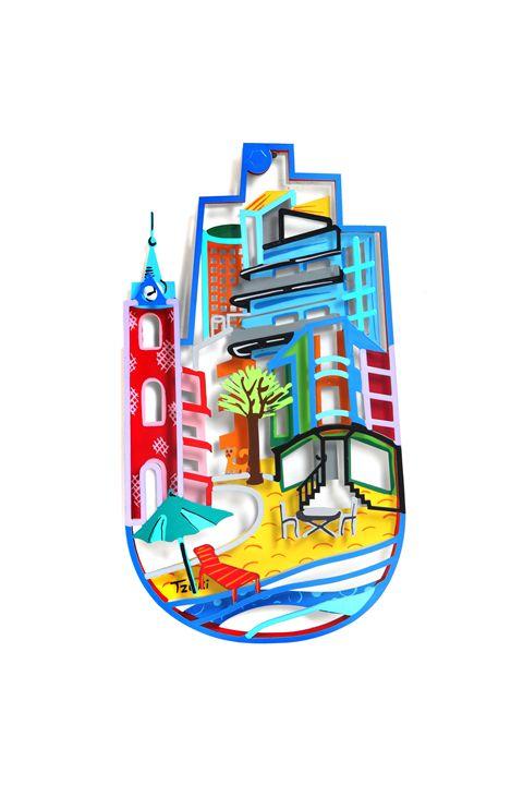 Tzuki Tel Aviv Hamsa Hand Israel - Tzuki Design