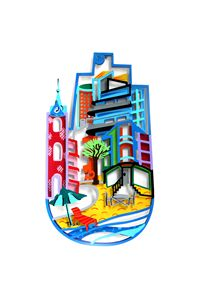 Tel Aviv Hamsa Hand Israel Tzuki - Tzuki Design