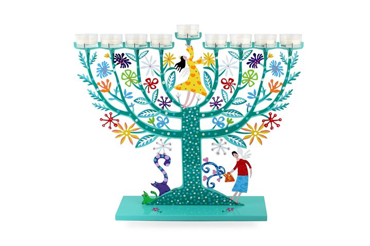 Family Tree Menorah Judaica Tzuki - Tzuki Design