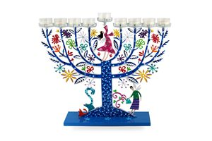 Family Tree Menorah Judaica Tzuki - Tzuki Design
