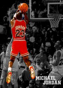 Michael Jordan Basketball Sport