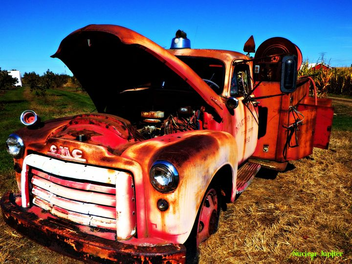 Rusted Tradition - Nuclear Jupiter Photography