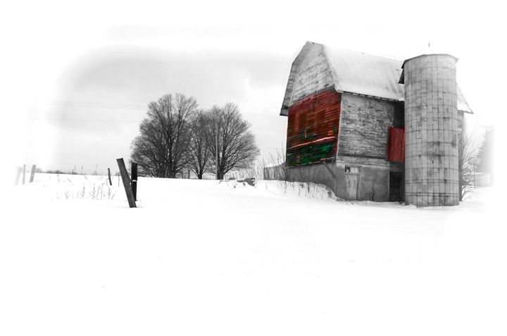 red barn - Nuclear Jupiter Photography