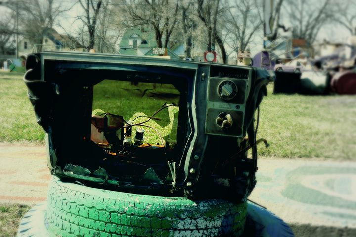 channel surfing - Nuclear Jupiter Photography