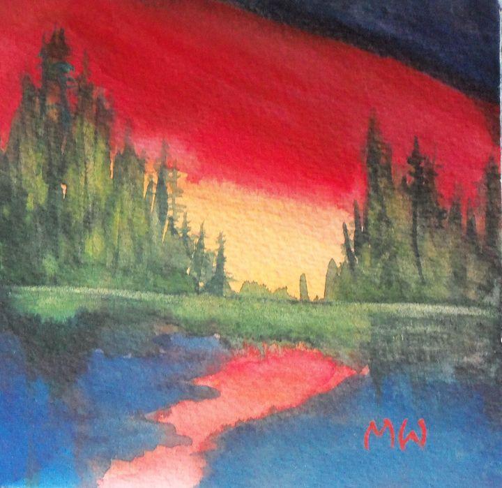Peggy's Sunset - artbymarsha