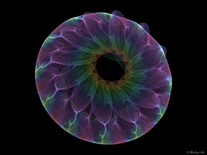 Spirals Flower - Healing Art