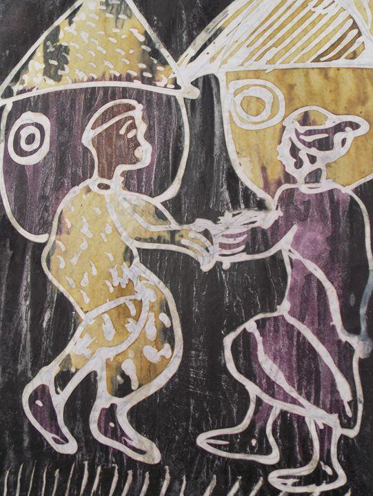 Tranditional greetings in african - JoshuaArtBatikStudio