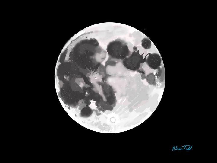 Telestial Moon - Allen Todd