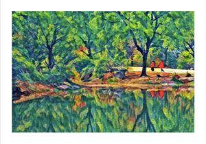 Lakeside Colorful